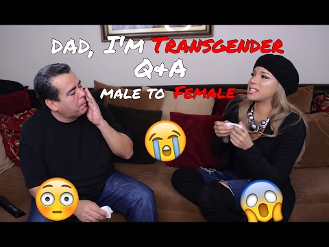 Dad, Im Transgender Q&A! MTF (Male To Female)