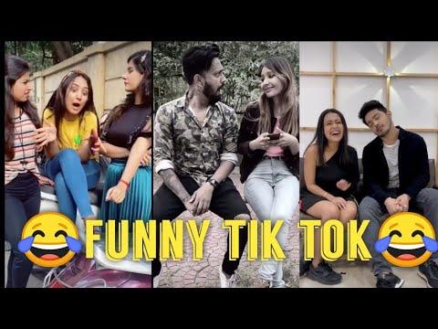 ?Funny couple ? tik tok video || Neha kakkar, Parul , sunny Chopra ||