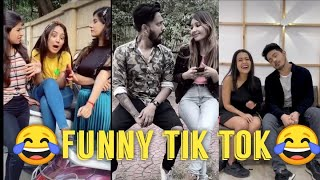 ?Funny couple ? tik tok video || Neha kakkar, Parul , sunny Chopra ||