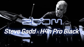 H4n Pro - All Black edition - (w/ Steve Gadd)