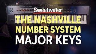 Understanding the Nashville Number System Part One - Major Keys