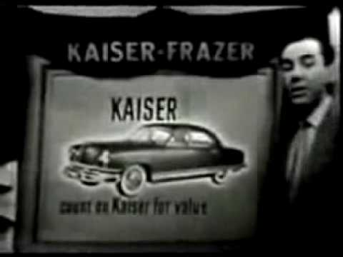 1951 Kaiser-Frazer TV Ad for the HenryJ and Kaiser Cars