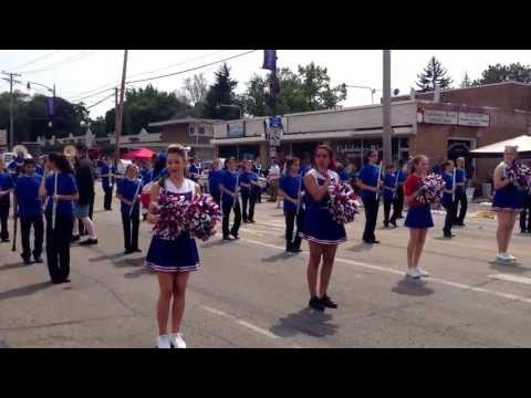 Marquardt Middle School Lilac Parade 2013