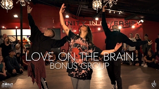 rihanna love on the brain bonus group choreography by galenhooks filmed by timmilgram
