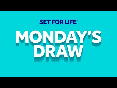 The National Lottery 'Set For Life' Draw Results From Monday 21st September 2020