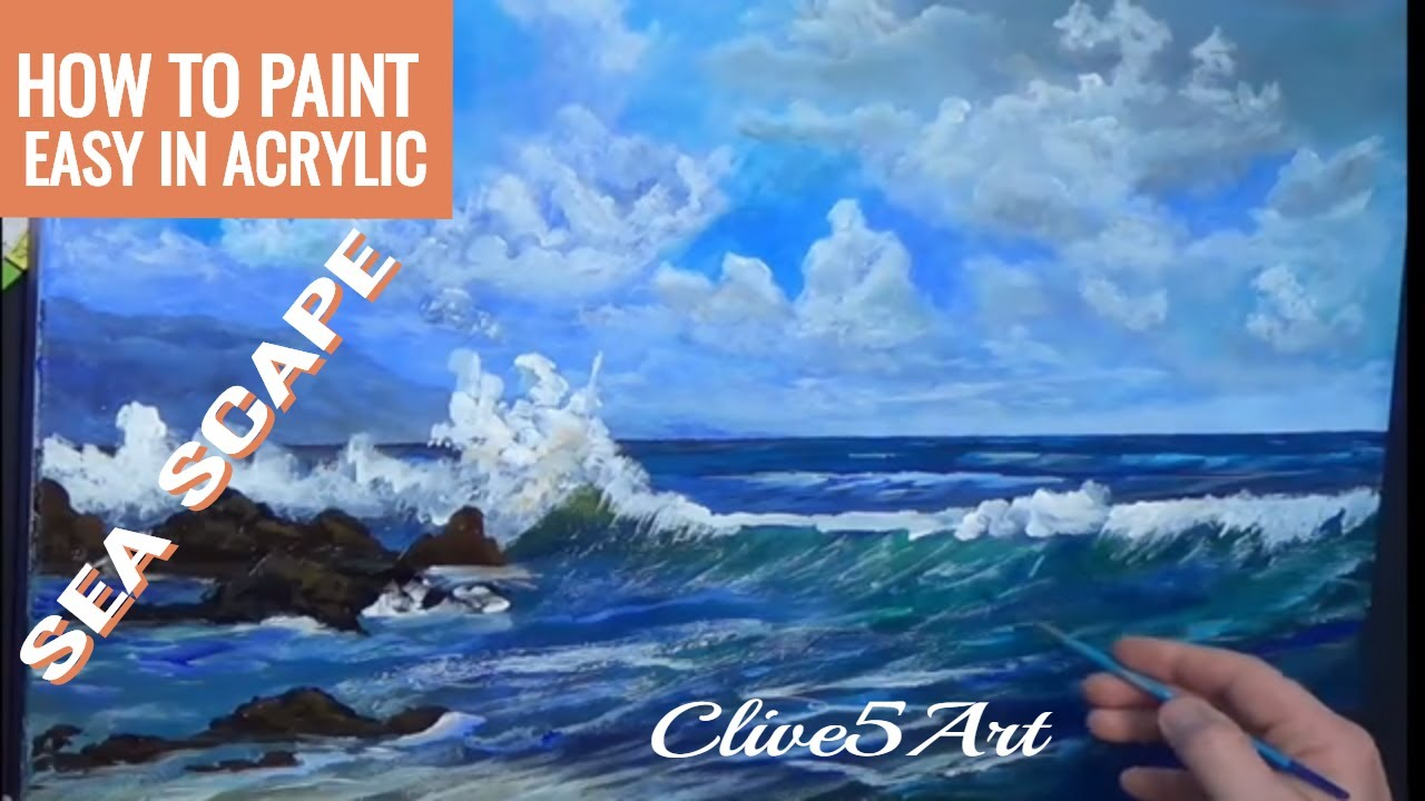 Acrylic Seascape Techniques , How To Paint A Wave, In. Side Cabinets For Living Room. Glam Living Room. Owl Living Room Decor. Tips For Decorating Small Living Room. Living Room Rugs Ikea. Living Room Ideas Grey Sofa. Living Room Recliners. Formal Living Room Chairs
