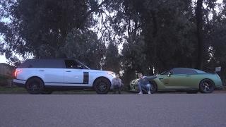 RACING TANNER FOX!! (Range Rover VS GTR)