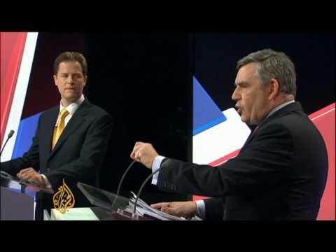 UK leaders clash in second debate