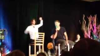 "Jensen Ackles singing ""Heaven Isn"