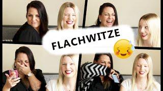 FLACHWITZE CHALLENGE | MEGA LUSTIG | mit Isabeau | März 2015 | Linda
