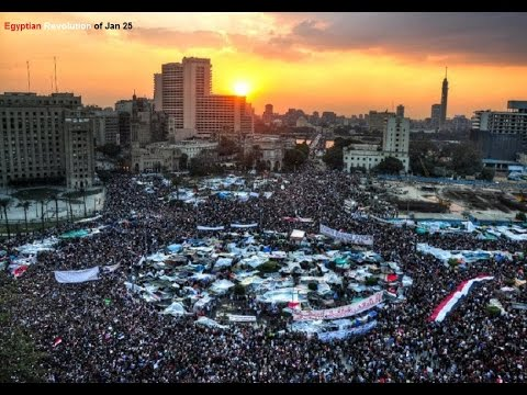 Raw: High security alert in Cairo's Jan. 25 Revolution anniversary