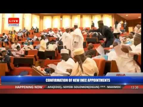 Senate Confirms Prof  Mahmood Yakubu As INEC Chairman