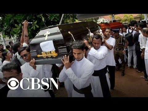 Sri Lanka declares national day of mourning as death toll rises to at least 321