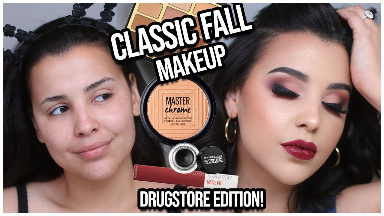 Download Classic Drugstore Fall Makeup Tutorial 2018! EASY & AFFORDABLE | MakeupByAmarie