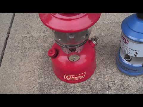 HELP!!! Coleman Kerosene Lantern, 200A Model