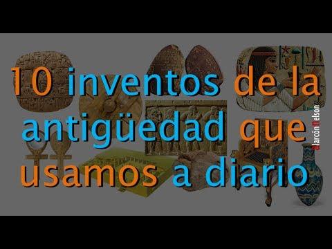 Diez inventos de la antigüedad que usamos a diario