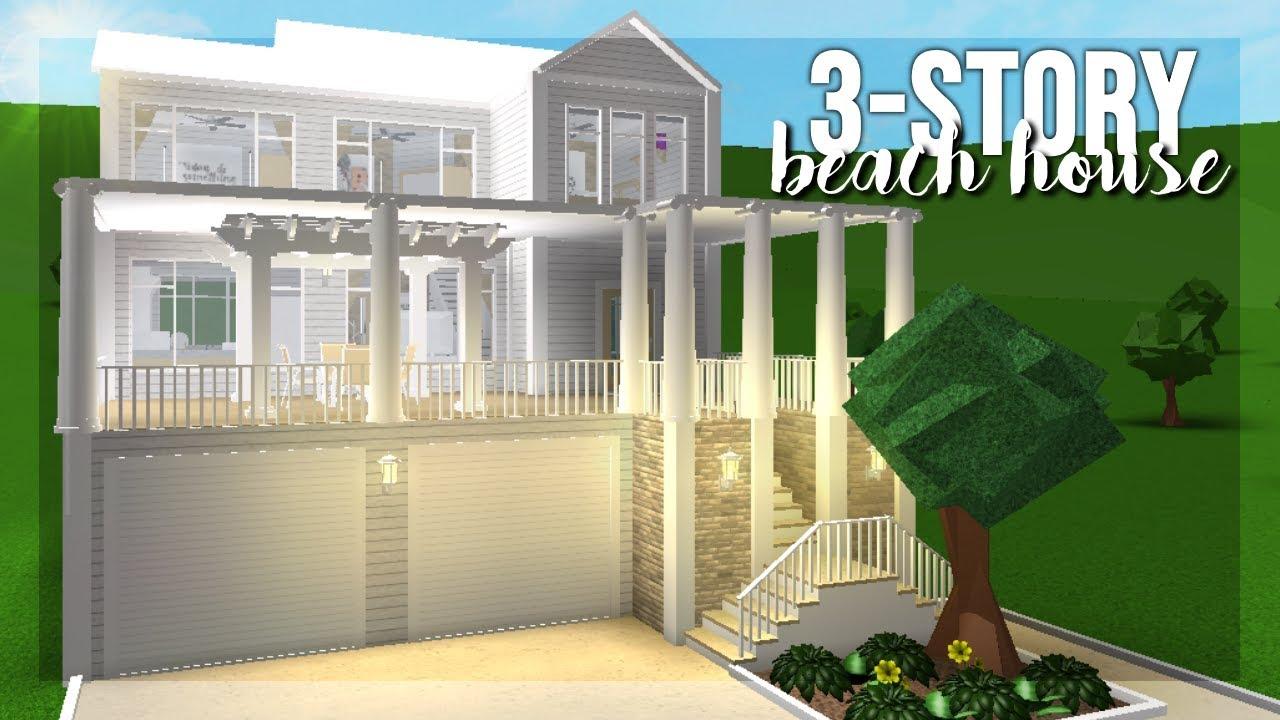 Bloxburg: 75k Family Beach House
