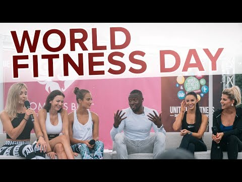 World Fitness Day 2017 in Frankfurt