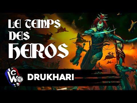 LE TEMPS DES HEROS - Drukhari - Sadisme, décadence, piraterie, splatterpunk