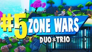 TOP 5 BEST DUO & TRIO Zone Wars Creative Maps In Fortnite | Fortnite Scrim Map CODES
