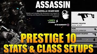 Prestige 10 Level 50 - Operator Class Setups & PVP Stats (Ghost Recon Wildlands PVP)