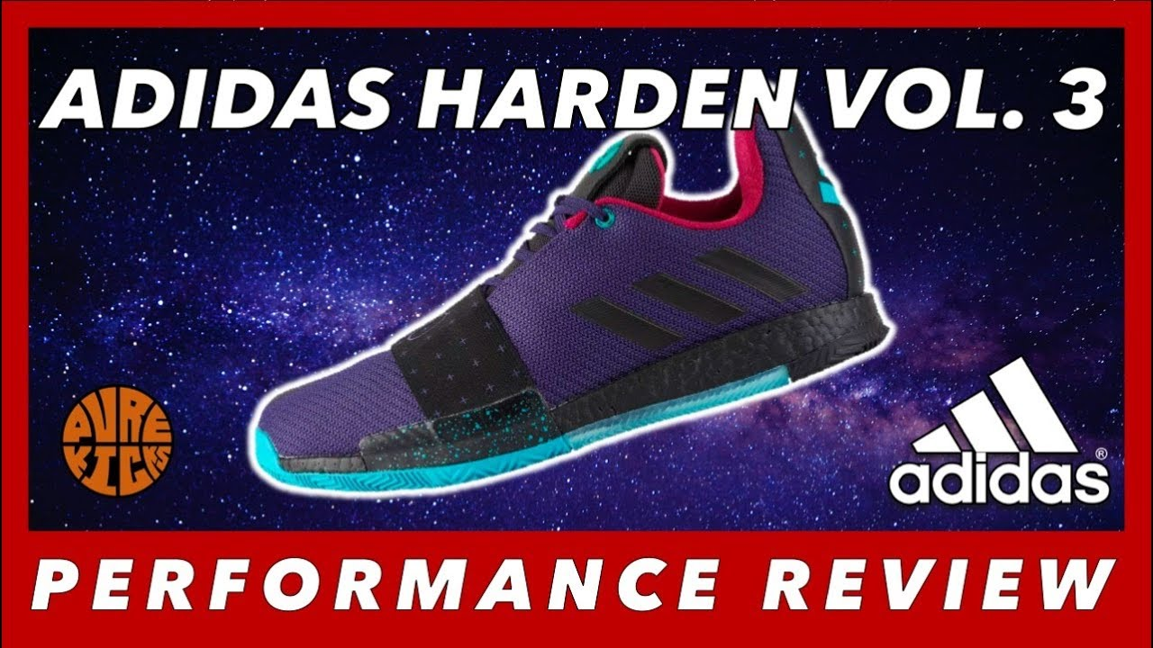 7be1a28ff6f ADIDAS HARDEN VOL. 3 PERFORMANCE REVIEW 🔥👀 - YouTube