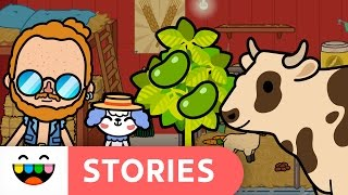 Milk & Soy Milk ● Where Does It Come From?! | Toca Life: Farm Stories | @TocaBoca