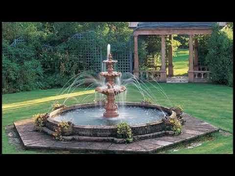 Фонтаны и Водопады современное украшение садового участка
