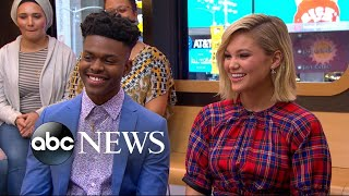 Olivia Holt and Aubrey Joseph dish on 'Cloak and Dagger'