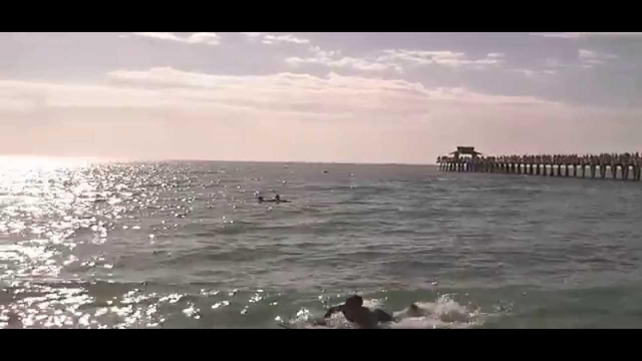 Beach fl, Naples Florida Pier. - YouTube