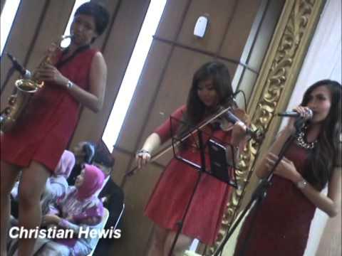 Christian Hewis wedding entertainment jakarta, Female Chamber - Wedding BRP Smesco