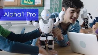 Meet Alpha1 Pro - The Interactive Programmable Robot for Everybody