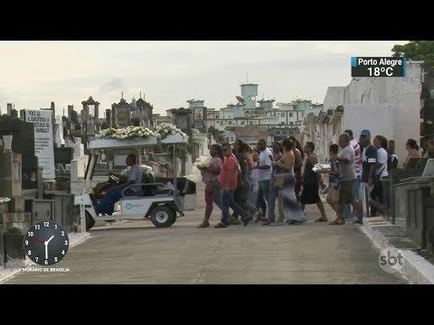 Casal morre atropelado por bandidos em fuga no Rio de Janeiro | SBT Notícias (09/10/17)