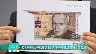 Video BCR explica cuáles son las nuevas disposiciones para canjear billetes deteriorados download MP3, 3GP, MP4, WEBM, AVI, FLV Juni 2018