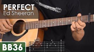 perfect - ed sheeran guitar tutorial