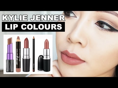 Kylie Jenner Lip Colours Top 5 Tried On Suitable For Asian Skintones