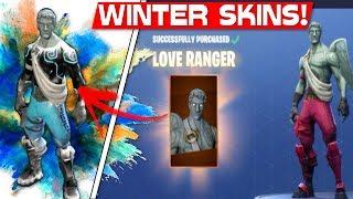 WINTER SKINS 'GELEAKED'! Fortnite nouvelles peaux de Noel?