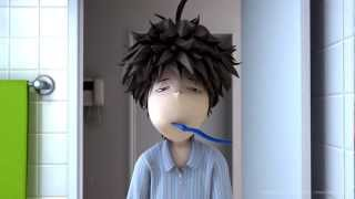 Repeat youtube video Short Animation -ALARM-