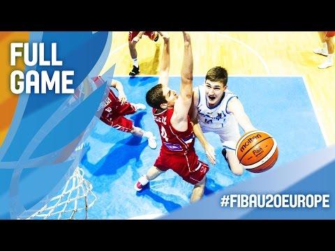 Ukraine v Serbia - Full Game - FIBA U20 European Championship 2016