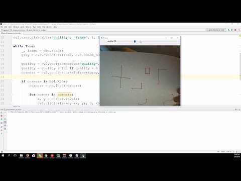 Corners detection – OpenCV 3 4 with python 3 Tutorial 22
