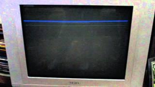 SAMSUNG   Горизонтальные полосы в телевизоре