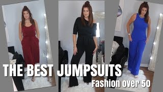 THE BEST JUMPSUITS/FASHION OVER 50
