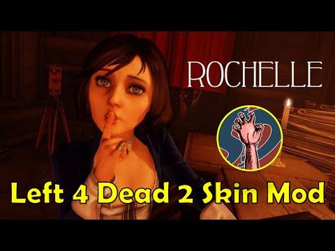 Elizabeth Bioshock Left 4 Dead 2 Character Skin Mod
