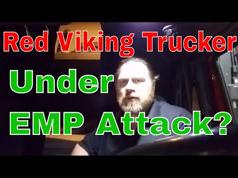 Is Red Viking Under Electro Magnetic Pulse Attack ? Red Viking Trucker