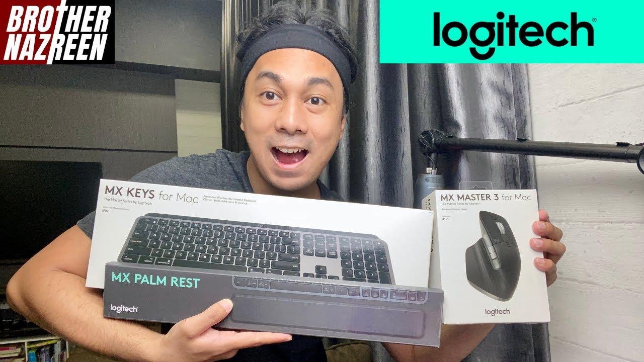 Logitech MX Keys, Palm Rest & Master 3   Tech Unboxing & Review 9