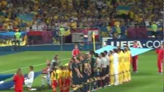 ЕВРО 2012  Украина-Швеция: Матч и после матча!)