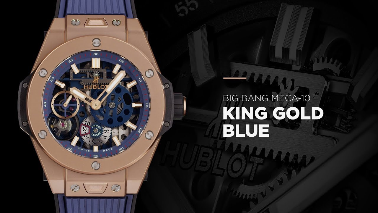 HUBLOT - BIG BANG MECA10 BLUE COLLECTION