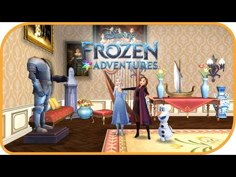 Disney Frozen Adventures - A New Match 3 Game(Portrait Gallery 4) |  Jam City, Inc.|Puzzle| HayDay
