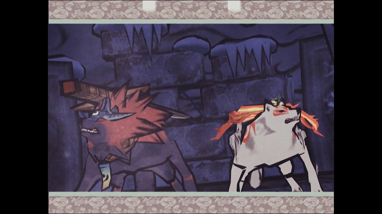 Amaterasu & Oki Fight together (Okami PS2) - YouTube