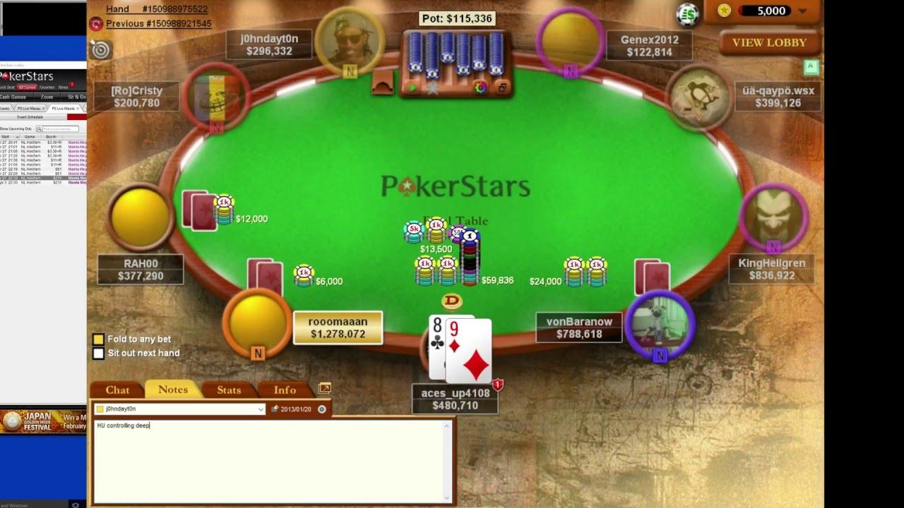 Escalera minima poker